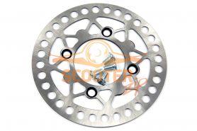 Тормозной диск для мотоцикла IRBIS TTR125 передний (200x76x3) (отв: 4x71)