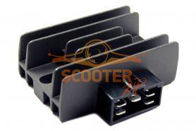 Регулятор напряжения для скутера с двигателем 4T 125-150сс (5конт.) Yamaha YBR125