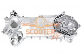 Картер двигателя левый для скутера с двигателем 2T 1E50QMB 90сс