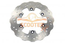 Тормозной диск для мотоцикла IRBIS TTR250b передний (265x130x4) (отв: 6x75)