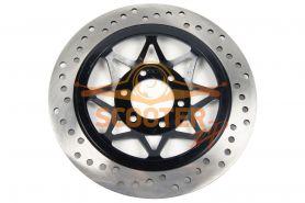Тормозной диск для мотоцикла IRBIS GARPIA передний (275x58x4) (отв: 6x39)