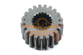 Шестерня привода масляного фильтра для мотоцикла с двигателем 4T 166FMM (CB250) 21T (19) h=26мм