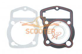 Прокладки (комплект 3шт.) для мотоцикла с двигателем 4T 162FMJ (CB150)