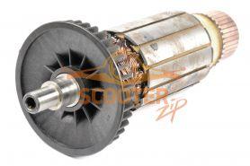 Ротор (Якорь) КИРОВ (ЛЕПСЕ) МШУ-1, 8-230-А, МШУ-2-230, МШУ-2, 2-230 (L-217 мм, D-53 мм, внутренняя резьба М6)