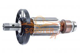 Ротор (Якорь) MAKITA для фрезера 3612BR (L-206.5 мм, D-49.5 мм, резьба М20 (шаг 1.0 мм))