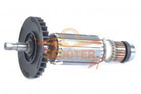 Ротор (Якорь) MAKITA для перфоратора HR2432 (L-143 мм, D-31.5 мм, шестигранник, 7 мм) см.515624-4, 515654-5