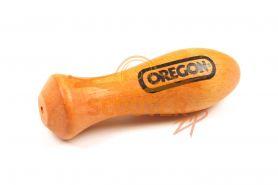 Ручка для напильника из твердой Бразильской древесины  10см.