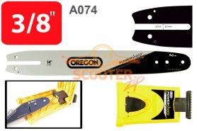 Шина 14'' (цепь 50 звеньев, посадка -1.3, шаг 3/8, 35см.) A074 + заточное устройство PowerSharp  OREGON