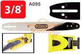 Шина 16'' (цепь 56-57 звеньев, посадка -1.3, шаг 3/8, 40см.) A095 + заточное устройство PowerSharp  OREGON