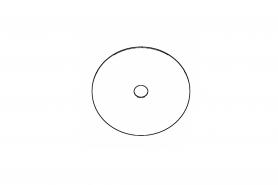 ℗ Контрольная шайба TS-700 для пров. биения фланца диска
