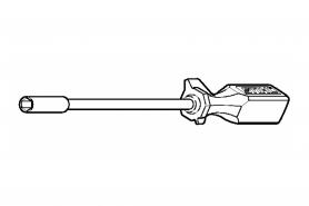 ℗ Отвертка для рег. карбюратора BR-500/600