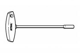 ℗ Ключ Q-SW8х200мм Stihl,  T-образный торц.