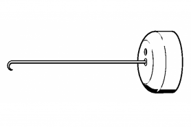 ℗ Монтажный крюк (пруж. сцепл.) Stihl