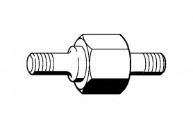 ℗ Винт с буртиком ms-261С м. и д/м. гайки