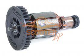 Ротор (Якорь) MAKITA для шлифмашины угловой BGA452, DGA452 (L-98 мм, D-31 мм)