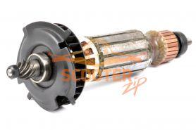 Ротор (Якорь) DeWalt для машины шлифовальной угловой D28132 TYPE 1, D28134 TYPE 1 (L-190 мм, D-35 мм, 9 зубов, наклон влево) 230В