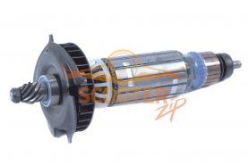 Ротор (Якорь) DeWalt для машины шлифовальной угловой (L-190 мм, D-35 мм, 9 зубов, наклон влево) 230В