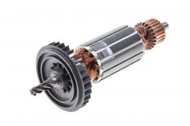 Ротор MAKITA 4304, 4304T, 4305,4305T (L-146.5 мм, D-31.5 мм, 5 зубов, наклон вправо) аналог 517098-5