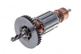 Ротор MAKITA 6410 (L-133.5 мм, D-31.5 мм, 4 зуба, наклон влево) аналог 517183-4