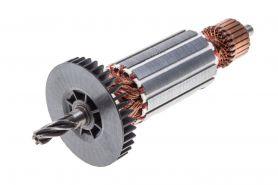 Ротор MAKITA DP4010, DP4011, HP2050, HP2050F, HP2051, HP2051F (L-149.5 мм, D-32 мм, 5 зубов, наклон вправо) аналог 517414-1