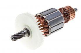 Ротор MAKITA HR2010 (L-145 мм, D-41 мм, 7 зубов, наклон вправо) аналог 516269-1
