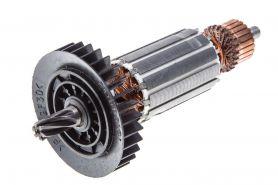 Ротор MAKITA HR2410, HR2413 (L-142 мм, D-31.5 мм, 6 зубов, наклон вправо) аналог 517403-6
