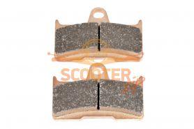 Колодка дискового тормоза задние металлокерамика CF MOTO 500,500 2a,Х5,Х6,Х8 Аналог  (9010-0805B0)