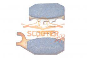 Колодки дискового тормоза передние правые (металлокерамика) BRP Outlander 500,650, 800,1000,Renegade 500,800,1000 платформа G1 (705600349)