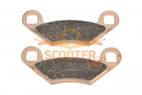 Колодка дискового тормоза передние металлокерамика CF MOTO 500,500 2a,Х5,Х6,Х8 Аналог  (9010-0808A0)