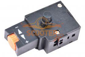Выключатель 1М 5А, с фиксатором и регулятором оборотов (аналог Ломов)