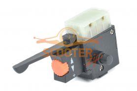 Выключатель KR8, с фиксатором, реверсом и регулятором оборотов, (аналог Ломов) (МЭС 450)