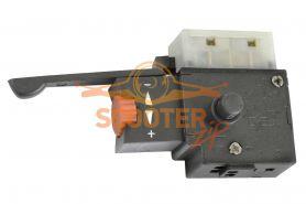 Выключатель (блок управления) 03P2 3.5A, с фиксатором, реверсом и регулятором оборотов, (аналог Псков)