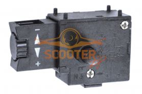 Выключатель БУЭ мод. 01 2А с фиксатором и регулятором оборотом (аналог Псков)