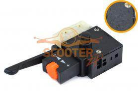 Выключатель (блок управления) 01P2 2A, с фиксатором, реверсом и регулятором оборотов, (аналог Псков)