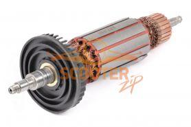 Ротор (Якорь) MAKITA 9565C, 9565CV (L-165 мм, D-35.5 мм, резьба М6 (шаг 1.0 мм))