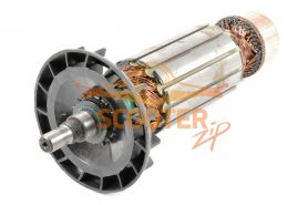Ротор (Якорь) КОНАКОВО УШМ 230/2115 (L-211 мм, D-46 мм, резьба М12 (шаг 1.0 мм))
