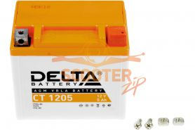 АКБ   CT 1205 YTX5L-BS 12V 5Ah (114 х 68 х 106) DELTA