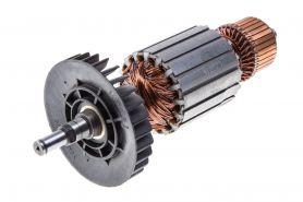 Ротор MAKITA 9047,9047S,9049,9049S (L-202.5 мм, D-54 мм, вал без резьбы под стопорное кольцо) аналог 516708-1