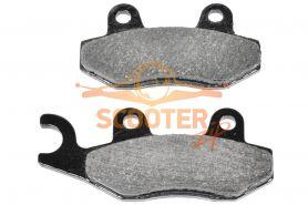 Колодки тормозные передние левые  (2шт.) CF MOTO Z6 (9060-080910)