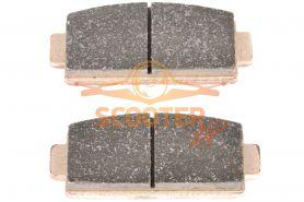 Колодки тормозные задние (2шт.) CF MOTO Z6 (9060-081010)