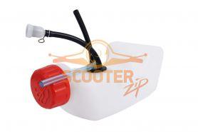 Корпус топливного бака для мотокосы Shindaiwa C230(комплект)