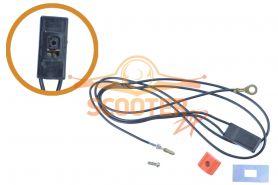 Выключатель для бензобура ECHO EA410( с проводами)
