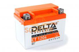 АКБ CT 1204 YTX4L-BS 12V 4Ah (112 х 68 х 88)/- +/ DELTA
