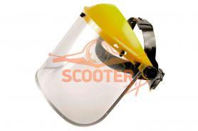 Шлем защитный поликарбонатный (козырек+щиток) CHAMPION