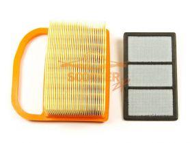 Фильтр воздушный STIHL TS 410,420,480i,500i (основной + тонкой очистки)
