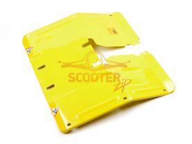 Кожух основной жёлтый CHAMPION BC6611,6712,6612H,7712, 7612H/ВС5511,5512,5712