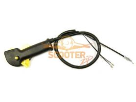 Рукоятка управления CHAMPION T266, 334-517, T334FS комплект (трос, курок, предохранитель, выключатель, корпус)