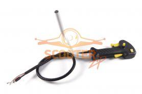Рукоятка управления CHAMPION T275, 345, 445, 525 комплект с трубчатой ручкой и тросом газа