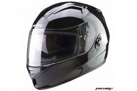 Шлем (интеграл) MI 162 Черный глянцевый с солнцезащитным стеклом MICHIRU