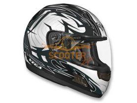 Шлем Vega (интеграл) ALTURA Stryker  серый/черн. глянцевый